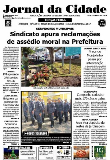 JC 12 de dezembro de 2017 - Jornal da Cidade
