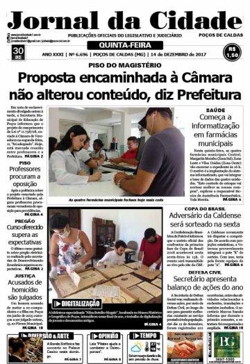 JC 14 de dezembro de 2017 - Jornal da Cidade