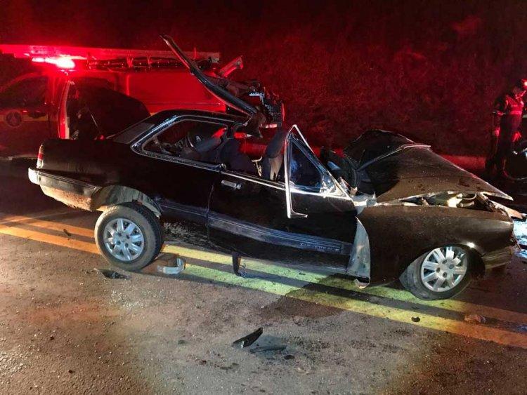 acidente na BR-459 - Jornal da Cidade