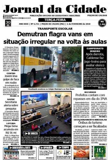 JC 06 de fevereiro de 2018 - Jornal da Cidade