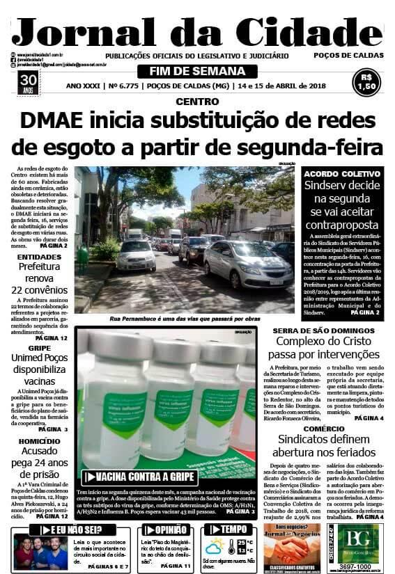 JC 14-15 de abril de 2018 - Jornal da Cidade