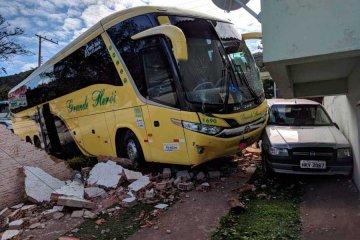 Ônibus desgovernado - Jornal da Cidade