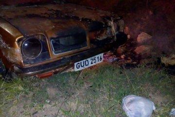 incêndio em veículo - Jornal da Cidade