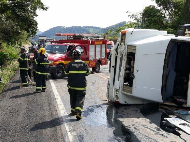 acidente na BR-146 - Jornal da Cidade