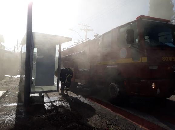 incêndio em bar na Zona Leste - Jornal da Cidade
