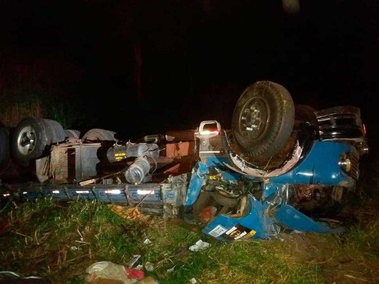 acidente entre Guaxupé e Muzambinho - Jornal da Cidade