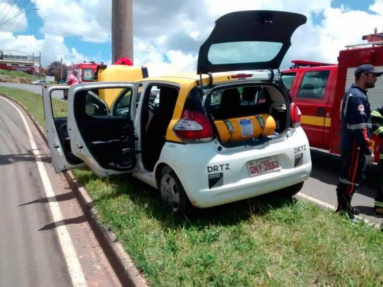 acidente na avenida Alcoa - Jornal da Cidade