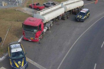 Caminhão roubado há cinco anos é localizado - Jornal da Cidade
