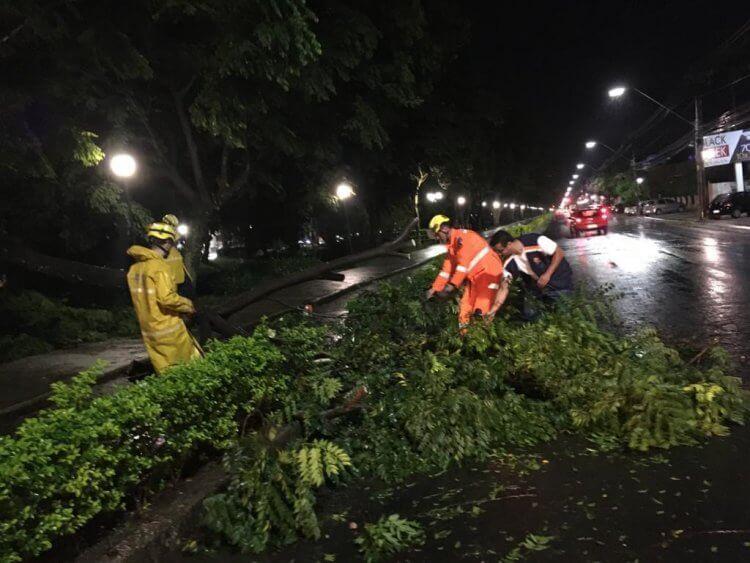chuva forte em Poços - Jornal da Cidade