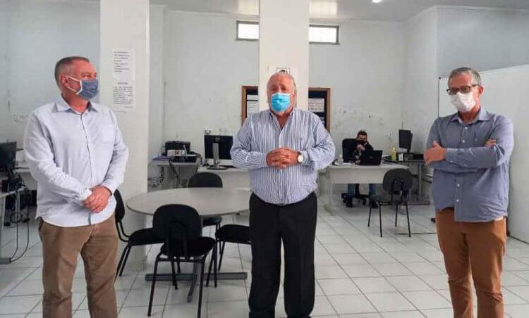 Carlos Mosconi Secretário de Saúde