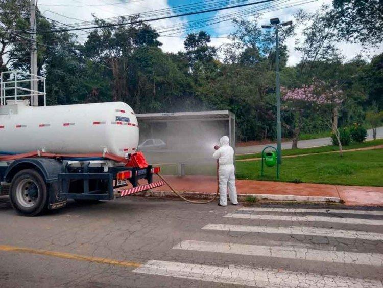 Higienização das ruas - Jornal da Cidade